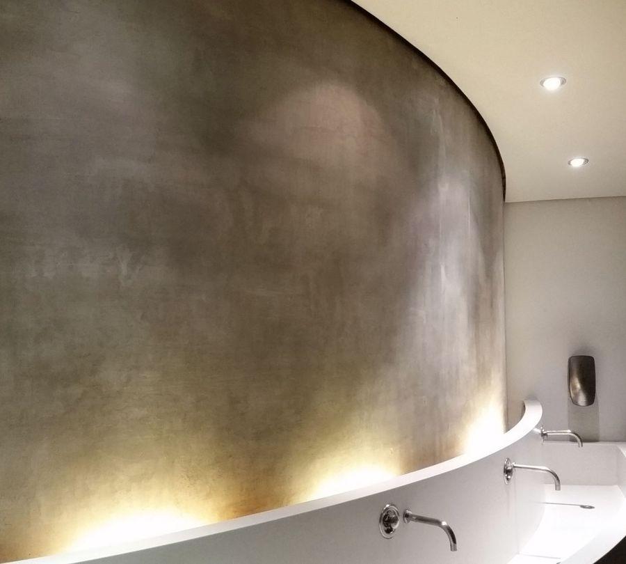 Fugenloses Bad ohne Fliesen als Badgestaltung in Wiesbaden - badezimmerwände ohne fliesen