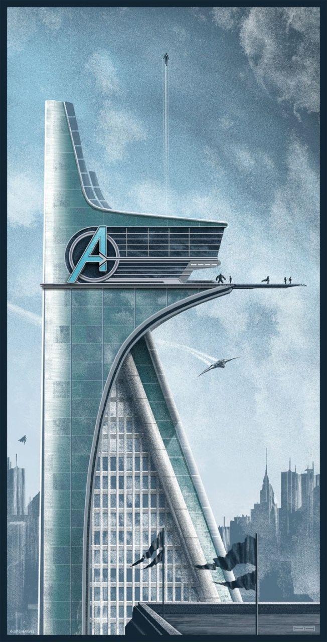 avenger tower super heros pinterest avengers marvel and