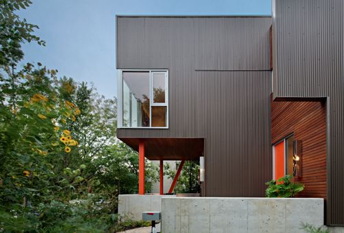 Cladding 360 Architects Faust Construction Photo Eric