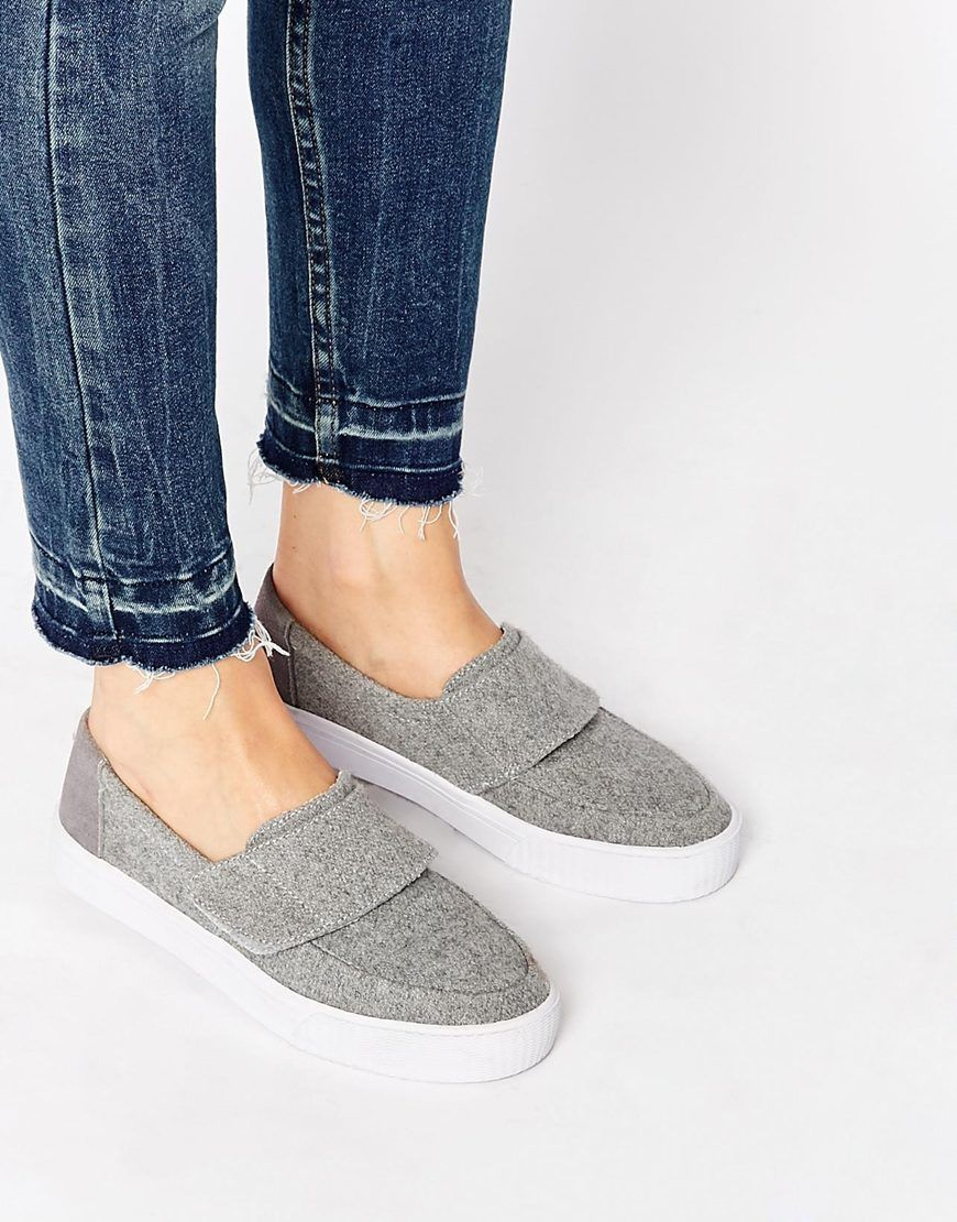 Buy Women Shoes / Toms Altair Felt Slip On Trainers