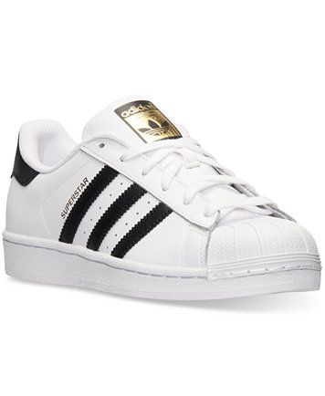 b379fa222 adidas Women s Superstar Casual Sneakers from Finish Line - Finish Line  Athletic Shoes - Shoes - Macy s