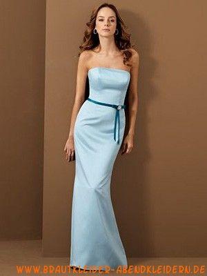 Elegante blaue Cocktailkleider aus Taft | Hochzeit Abendkleid ...