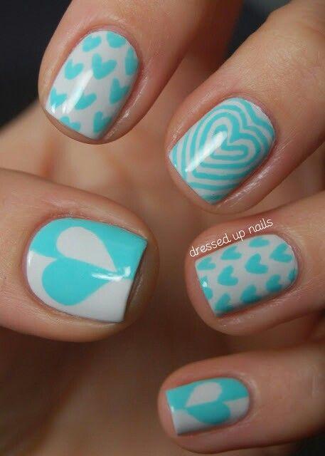 Lovely nails Uñas Pinterest Trucos de belleza, Decoración de - uas modernas