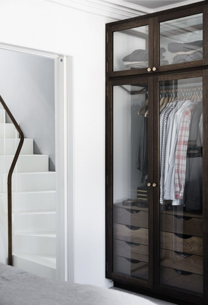 Pin by MALONE on WARDROBE Pinterest Glass doors Closet designs