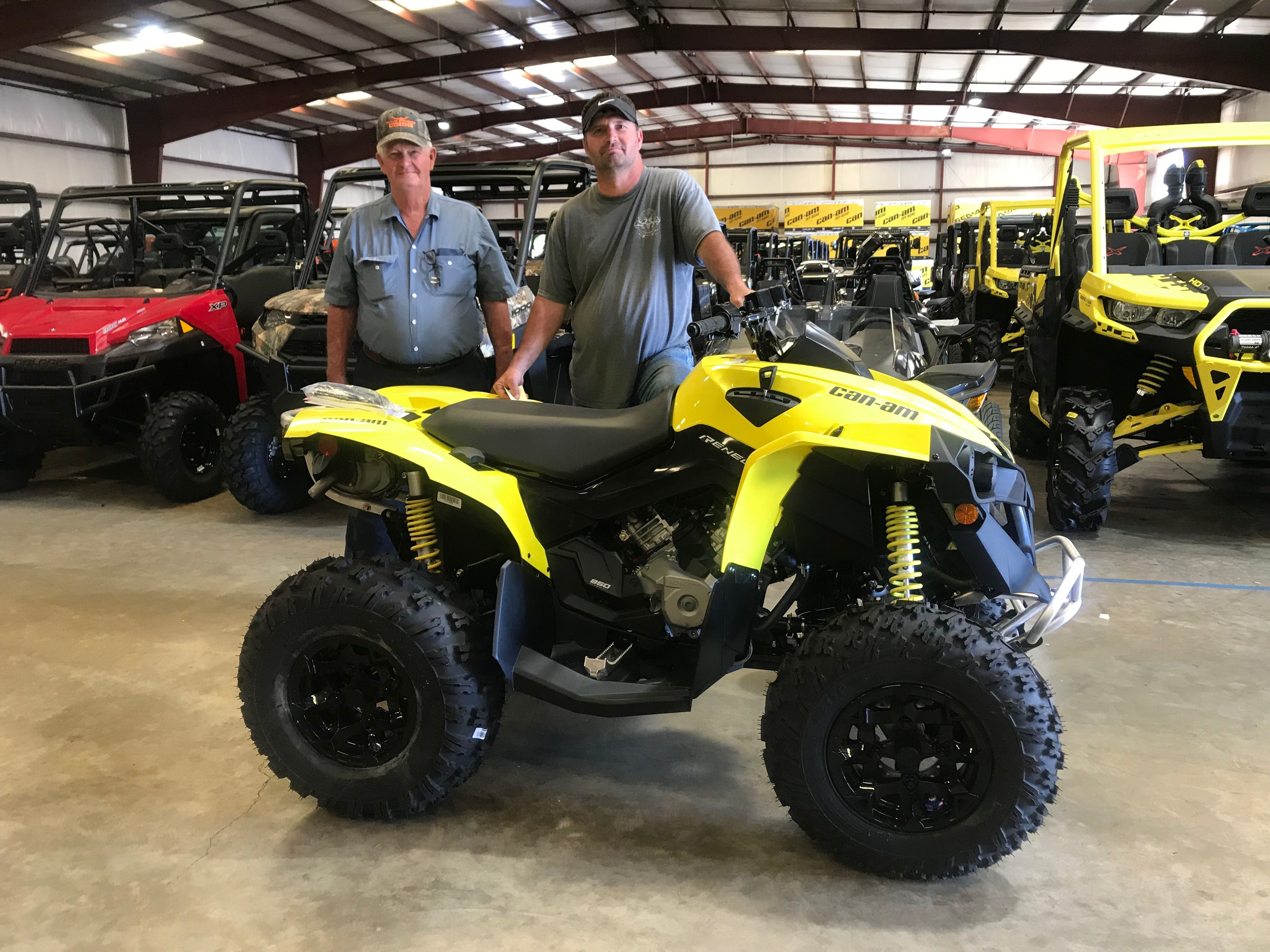 Congratulations to Mike and Jonathan Mitchell from Carriere