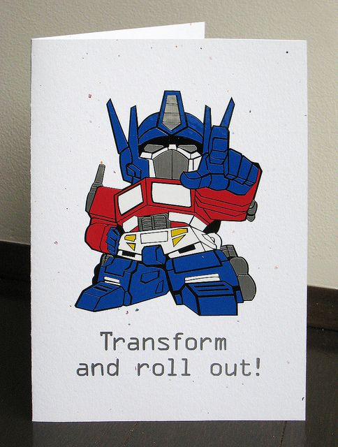 Birthday Card Transformer