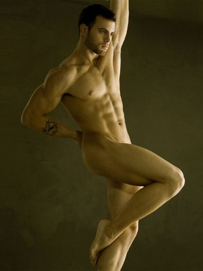 image Hot nude athletic men the dude enjoys to