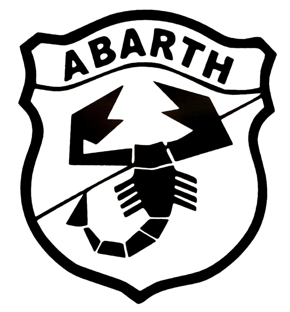 Fiat Abarth Logo A Vinyl Decals Sticker Buy 2 Get 1 Free Automatically Ebay Fiat Abarth Turin Italy Fiat Logo