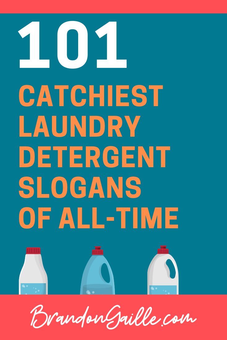 101 Catchy Laundry Detergent Slogans and Good Taglines in ...