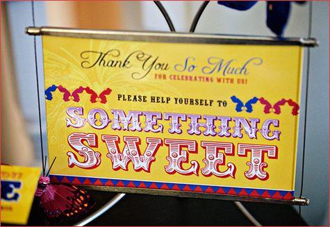 For sweet bar