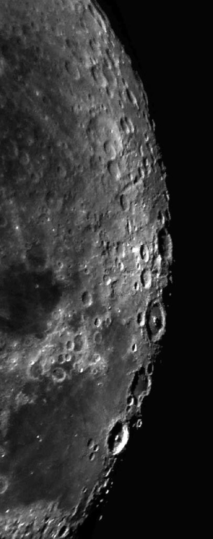 Moon -Taken by Amir Ehteshami on January 1, 2011 @ Shiraz, Iran