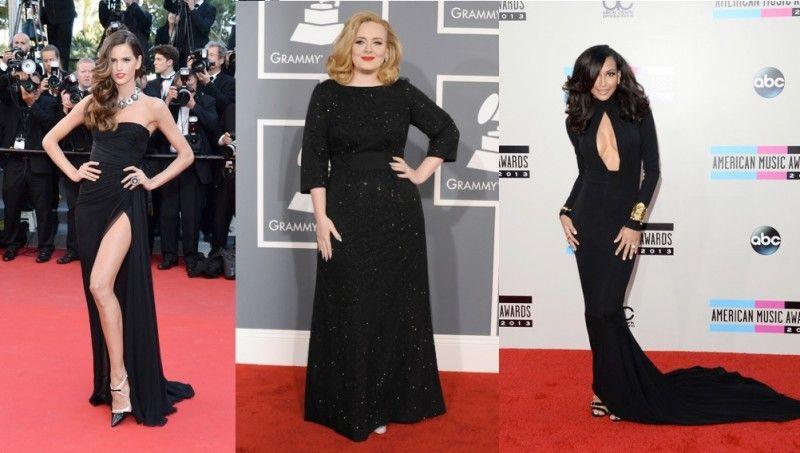 Vestito nero e bianco che smalto 32