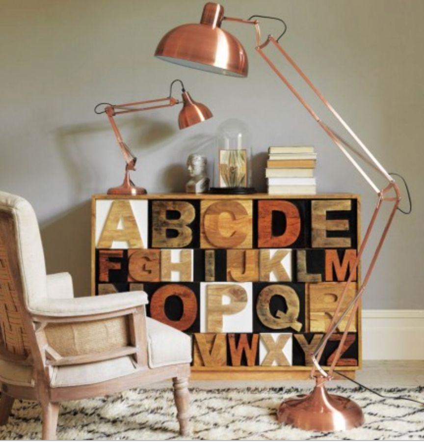 Copper Giant Retro Floor Lamp