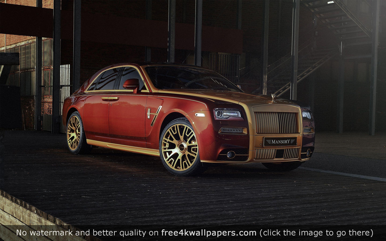 Mansory Rolls Royce Ghost 4K HD wallpaper Download Mansory Rolls