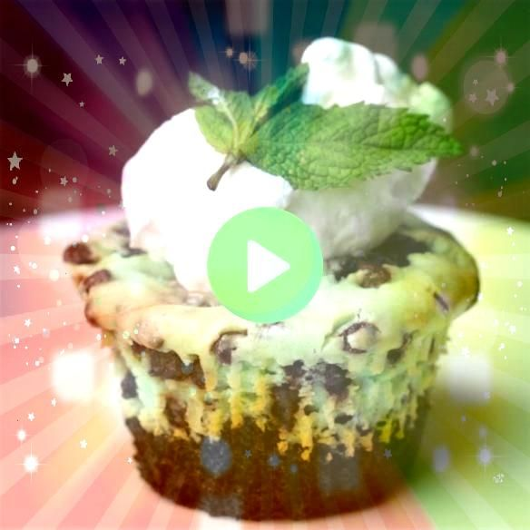 Cups Mint Chocolate Chip Cheesecake Brownie Cups Recipe by Tasty  I could readily adapt with GF brownie batterMint Chocolate Chip Cheesecake Brownie Cups Recipe by Tasty...