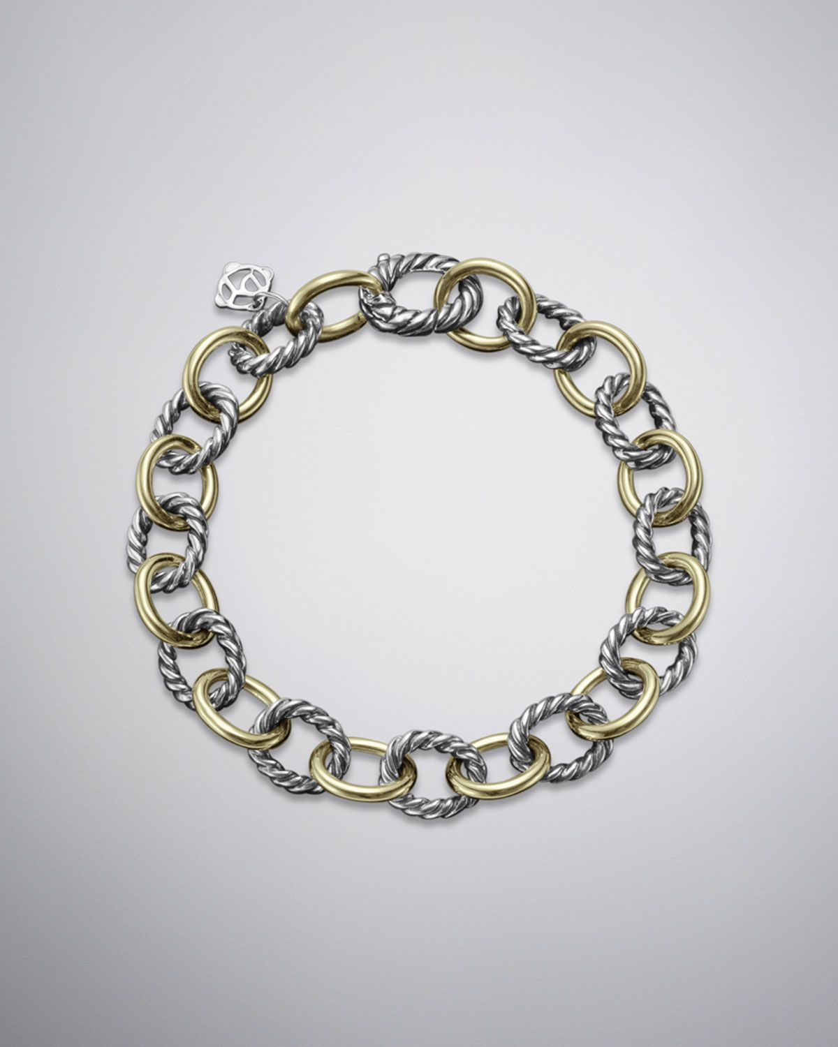 Medium Oval Link Bracelet By David Yurman At Neiman Marcus