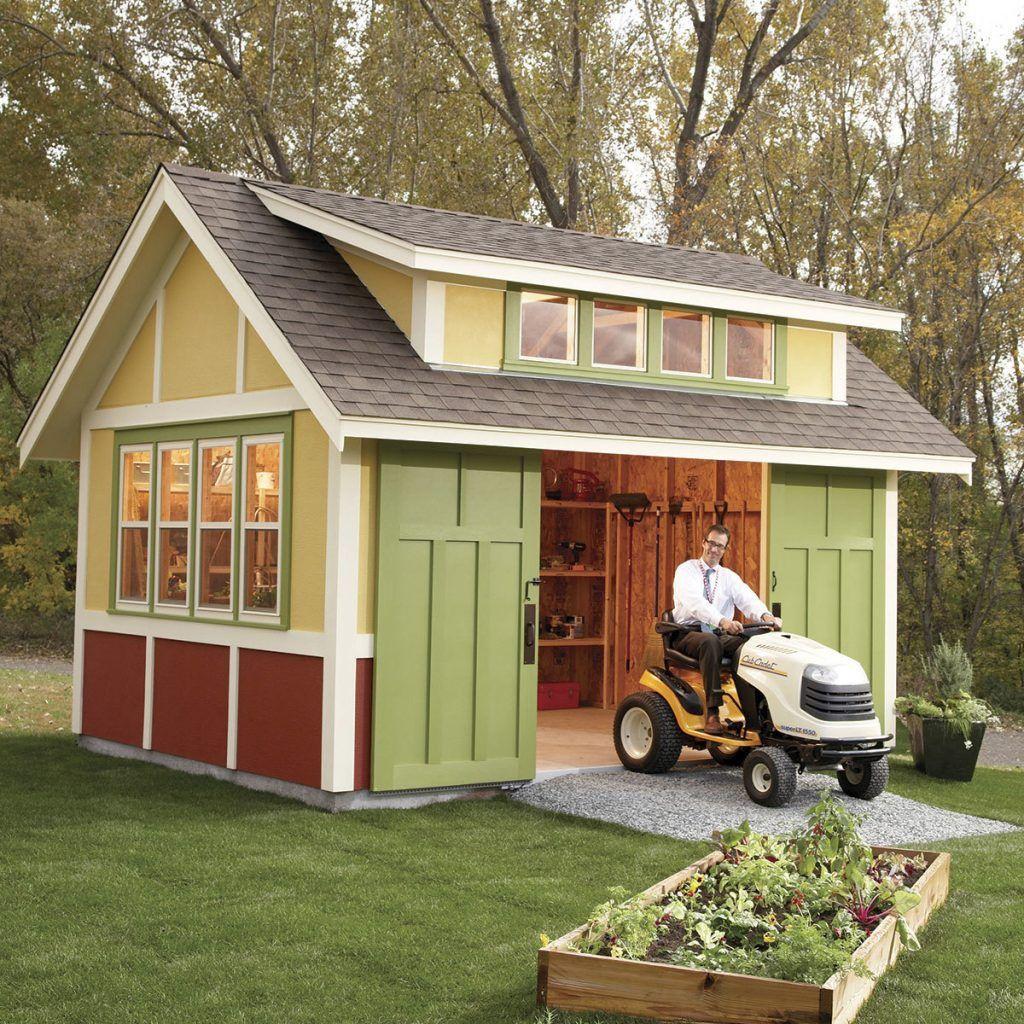 Build a garden shed how does your garden grow pinterest house build a garden shed solutioingenieria Choice Image