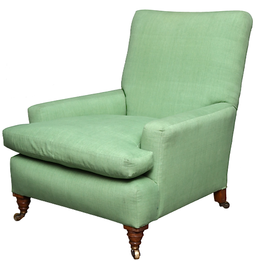 Edwardian Club Chair, circa 1900