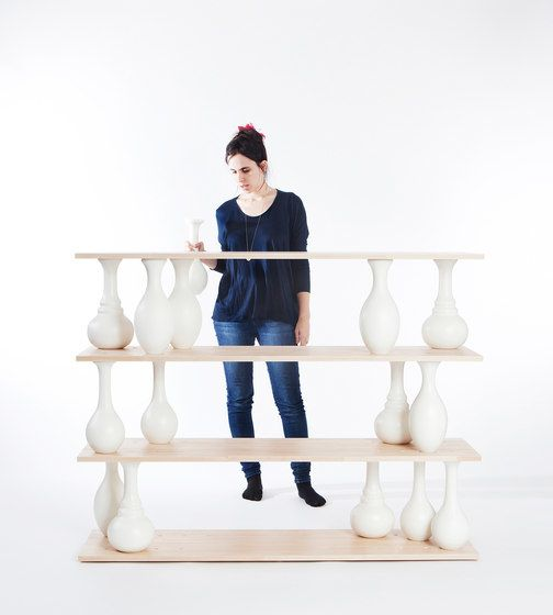 Ran Amitai, Gilli Kuchik and Bakery Design Amitai & Vase Shelves