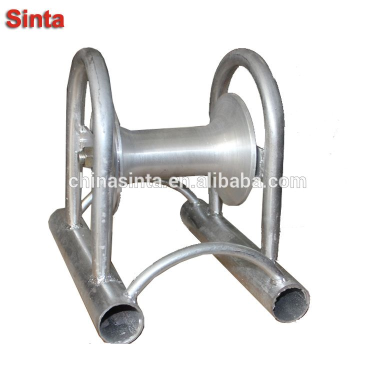 Bridge Cable Guide Roller Straight Cable Pulling Rollers Electrical Cables Power Cable Roller