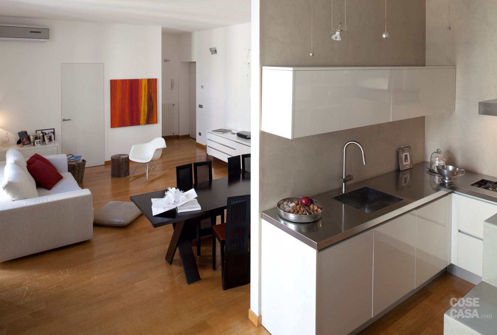 Sala Cucina 25 Mq una casa da copiare: 10 idee tra spunti d'arredo e decor