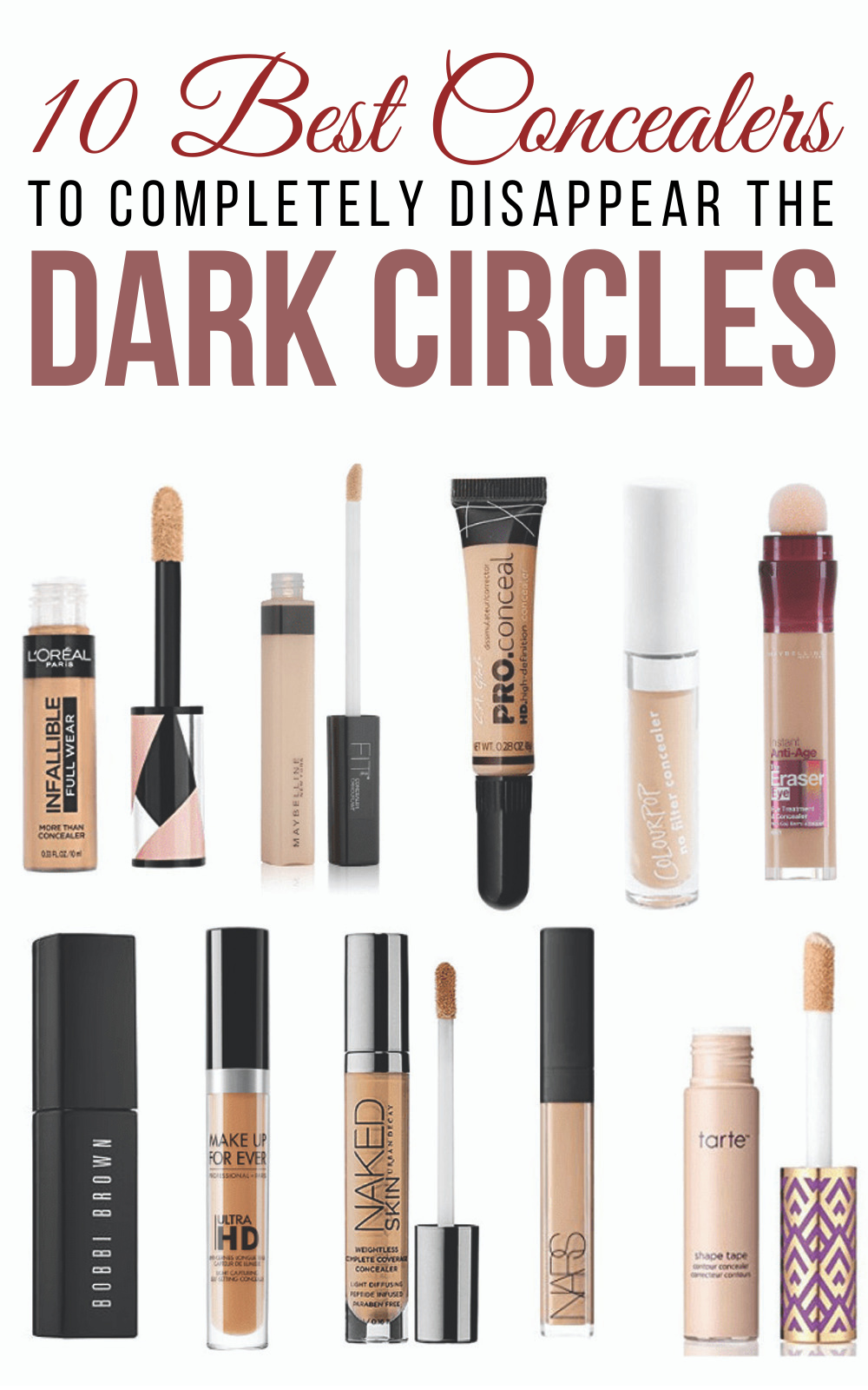 10 Useful Concealers For Dark Circles To Completely Make