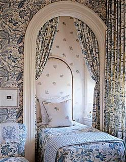 Interesting bed alcove with window--Barry Dixon