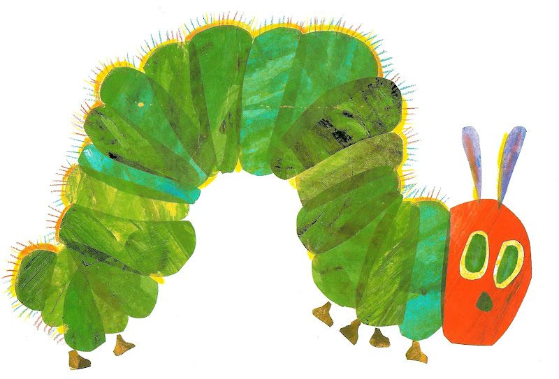 Hungry Caterpillar & food labels