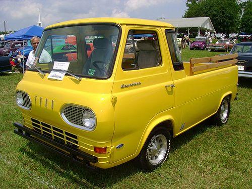 1962 Econoline P U 1966 Econolline Super Van Classic Trucks