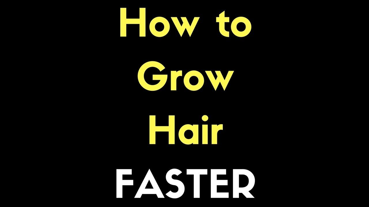 How to Grow Hair Faster - TheSalonGuy