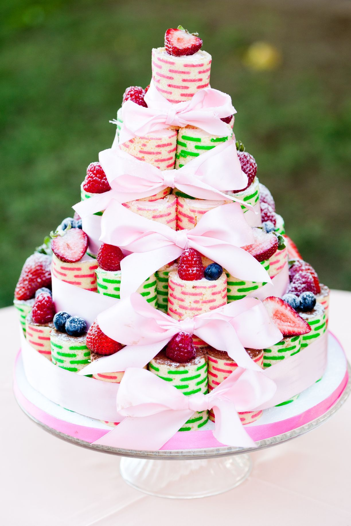 Roll Cake Tower By Cake Works Photo By Hiko Arasaki Wedding Cake - Cake Works Wedding Works