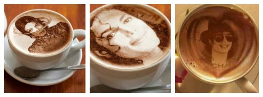 Start your morning with some Michael Jackson coffee.