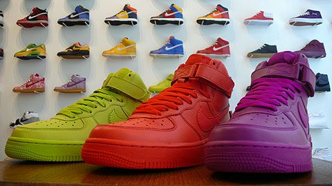 Nike WMNS Air Force 1 High - Solid Colors - Quickstrike - SneakerNews.com