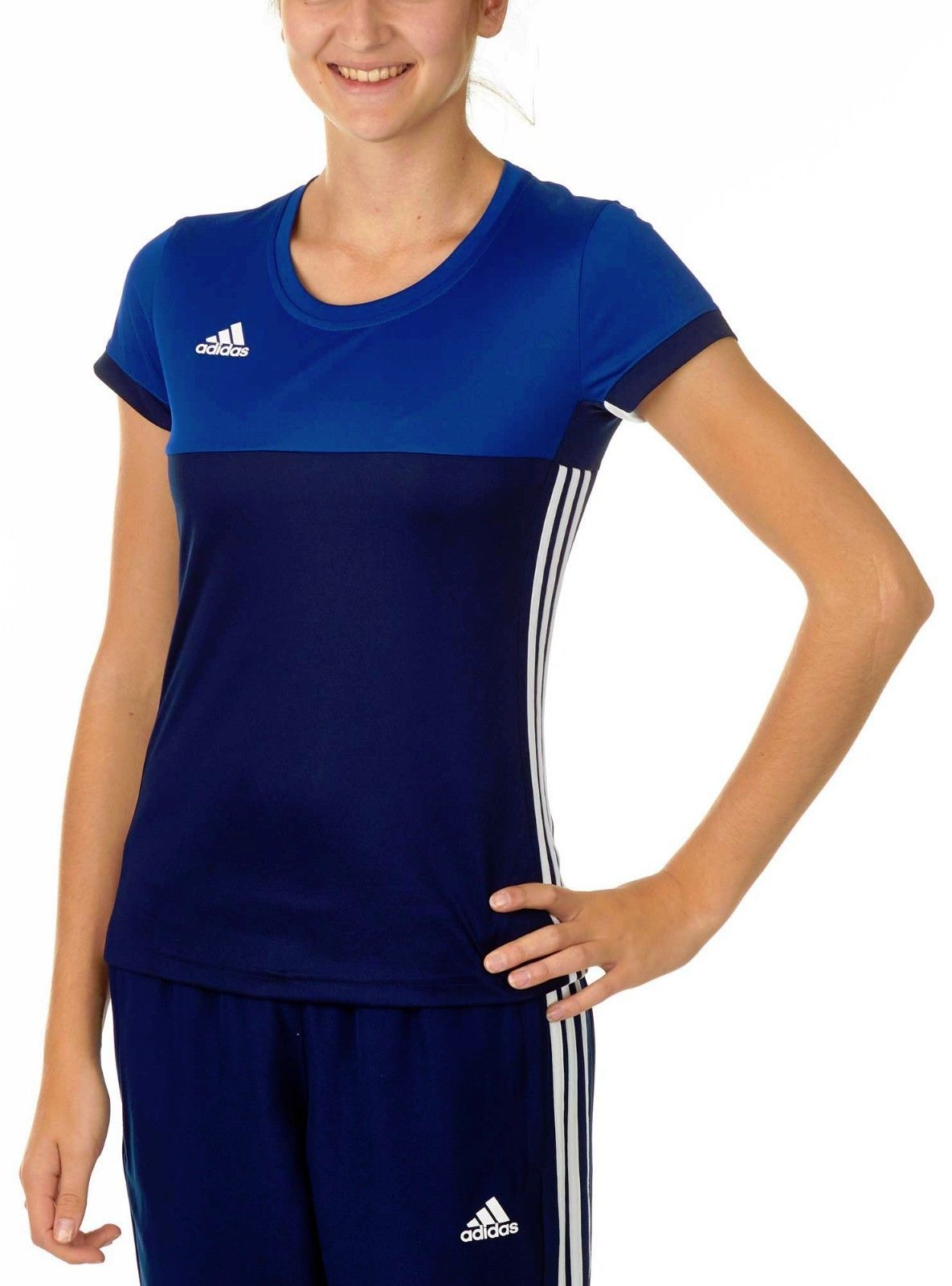 Details about adidas Ladies T16 Climacool Sports Tee
