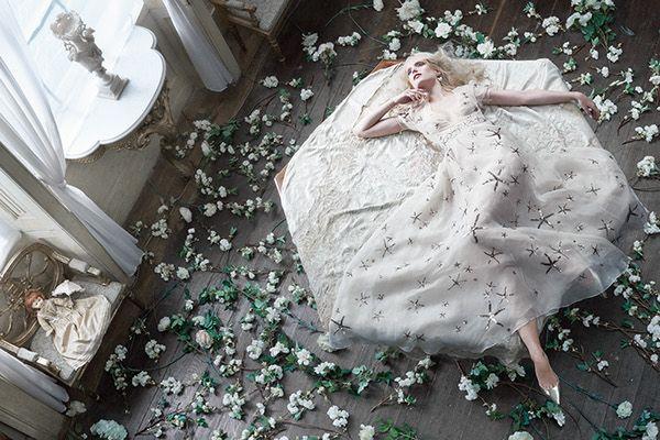 Romantico Bianco / Glamour Italia on Behance