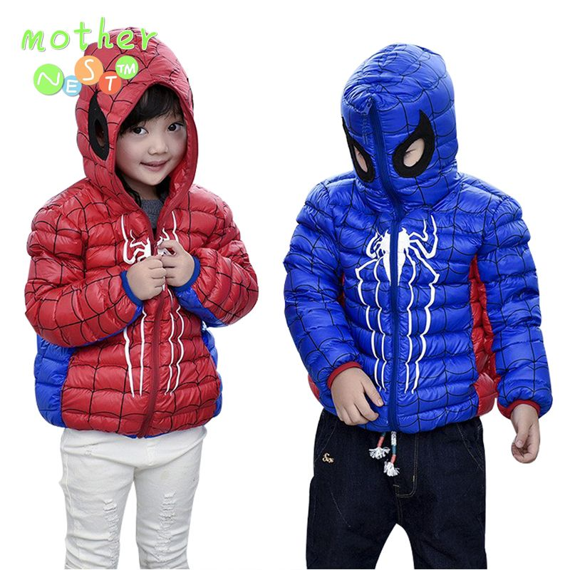 939ab7f0f 2017 Autumn Winter Children Down Jacket Fashion Hooded Short Coat ...