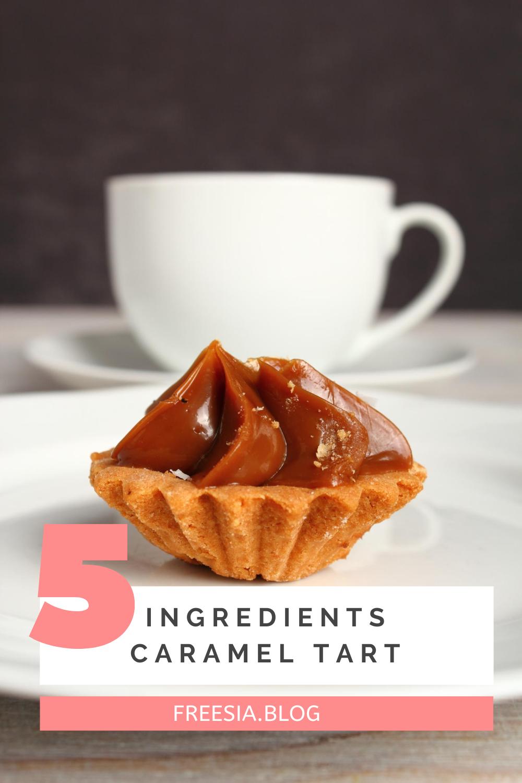 Caramel Tart Recipe In 2020 Caramel Tart Recipe Caramel Tart Digestive Biscuits