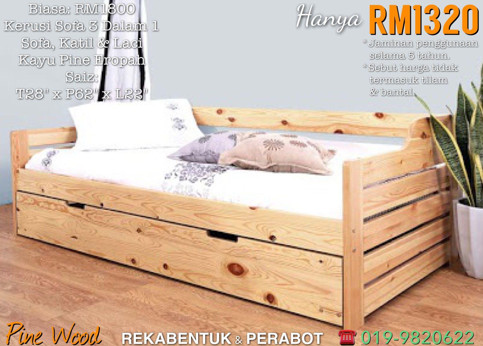 Kelantan Sofa Bed Design