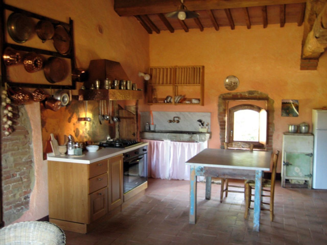 Tuscan Kitchen Wall Colors