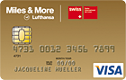 SWISS | Miles and More | Visa Gold
