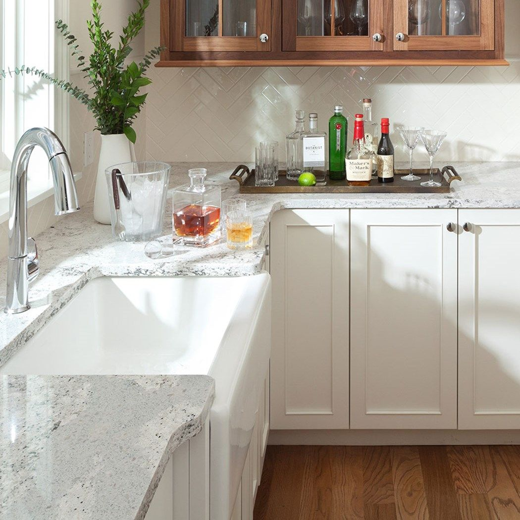 Coastal Bath Kitchen: Calm And Serene With Dramatic Accents, Summerhill Is Named