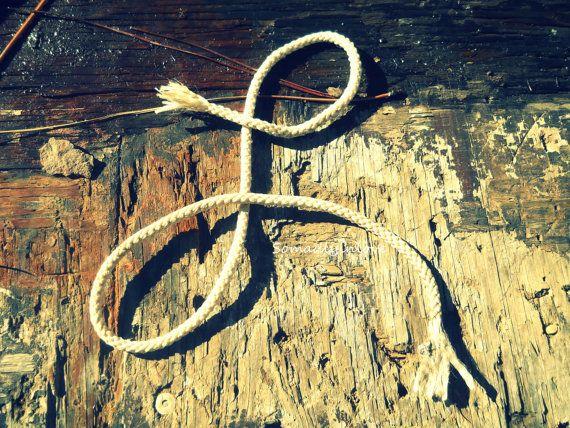 Alphabet Letter L Photograph Digital Rustic Rope