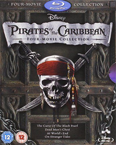 Pirates of the Caribbean: Four-Movie Collection [Blu-ray