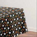 Halloween pattern tablecloth #halloween #happyhalloween #halloweenparty #halloweenmakeup #halloweencostume