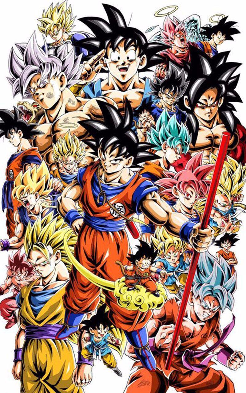 Goku Wallpaper 4k In 2020 Goku Wallpaper Dragon Ball Goku
