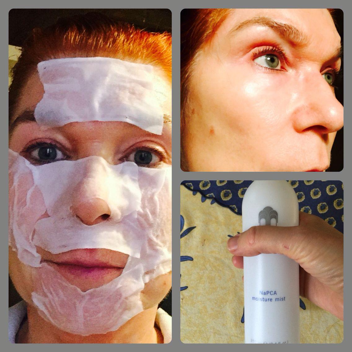 Lotion Mask Like Japanese Girls Do With Napca Moisture Mist Love It Moist