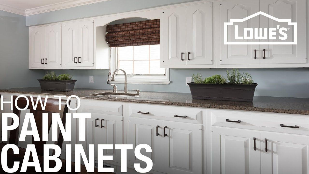 How To Paint Cabinets Youtube Home In 2019 Painting