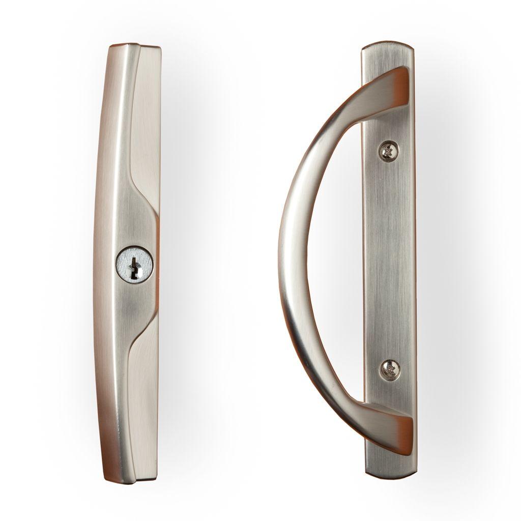 brass sliding patio door handles