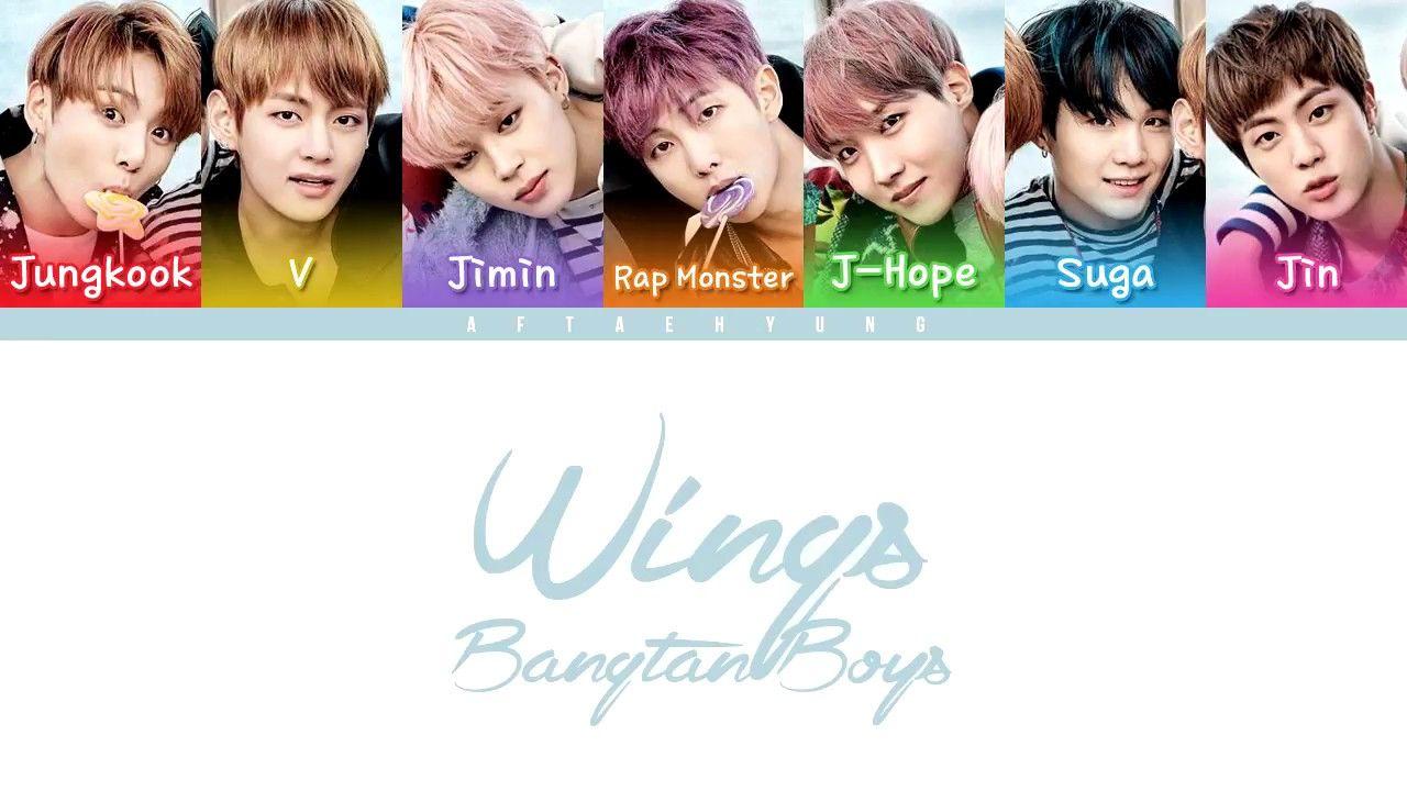 BTS (방탄소년단) - OUTRO   Wings (Color Coded Lyrics Eng Rom Han ... d76ab03c2