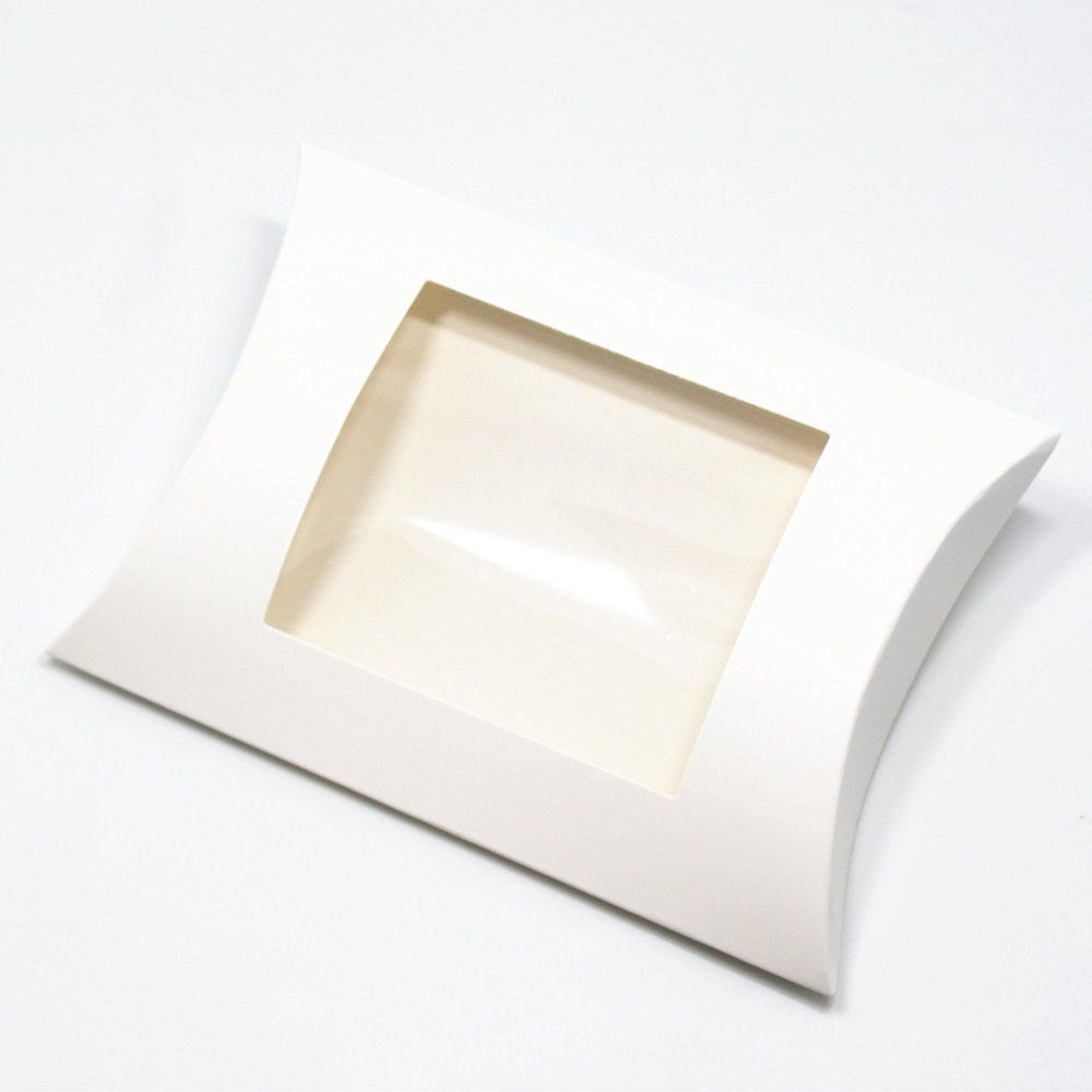 Bulk pillow boxes - 200 pieces with clear window for candies ...